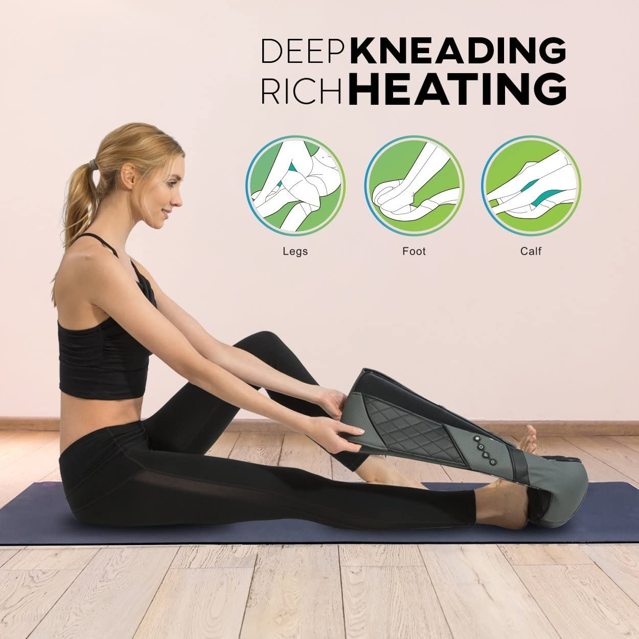 RESTECK- Massagers for Neck and Back with Heat: Health & Personal Care