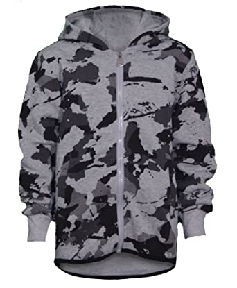 Amazon.com  Teens Camouflage Print Tracksuit Kids Boys Hooded Top ... 1863f840ed