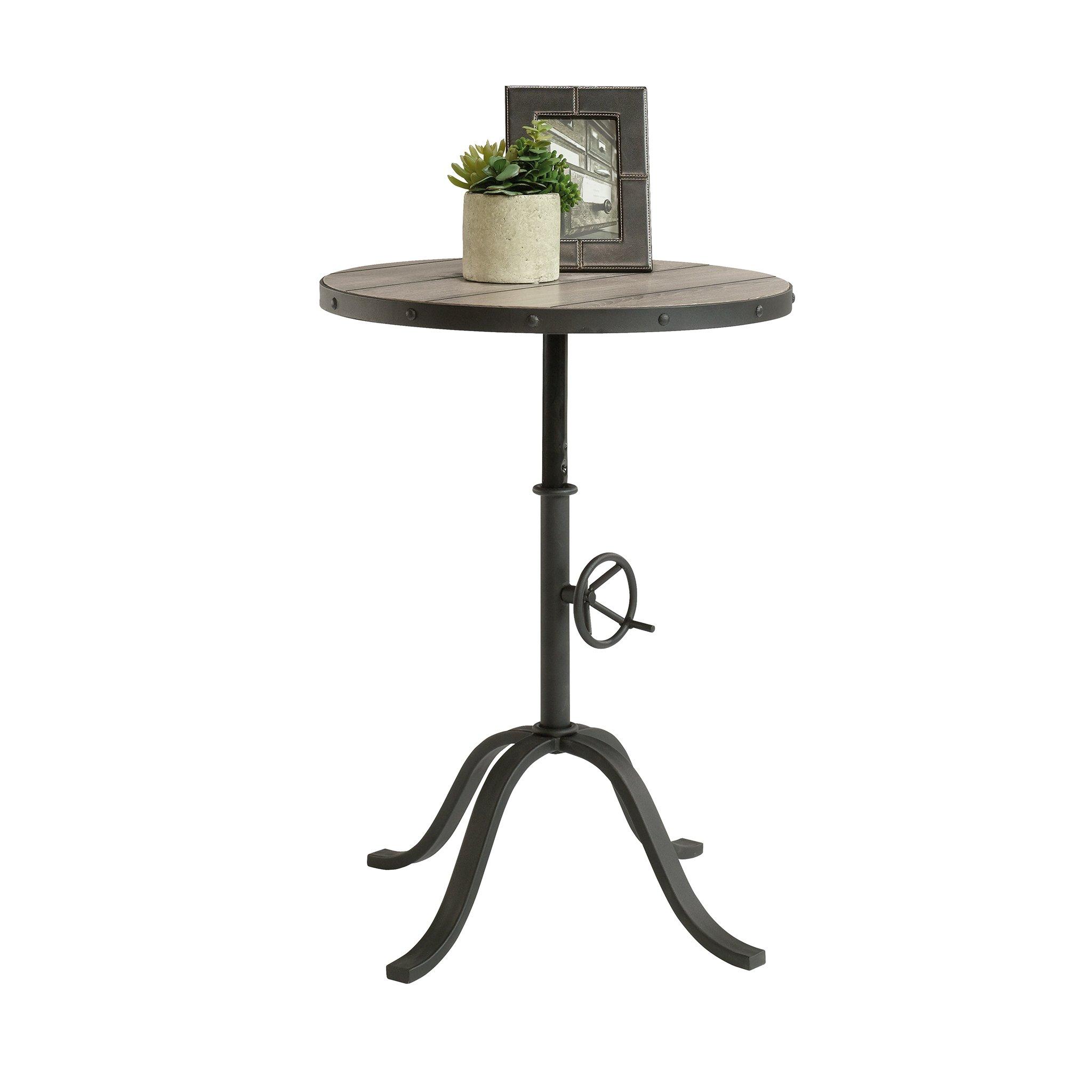 Sauder 417064 Barrister Lane Pedestal Table, L: 20.236'' x W: 20.236'' x H: 26.378'', Mixed finish by Sauder