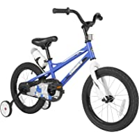 Sporty Kids Bike Stylish Boys and Girls Bikes Steel Frame 12-14-16-18-20 Inch with Training Wheels and Kickstand Water…