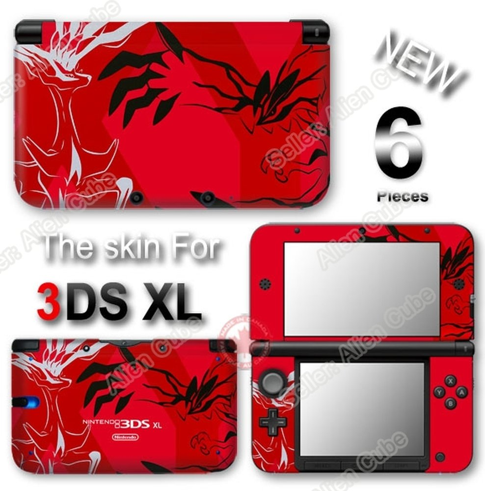 Amazon.com: Pokemon Pikachu X Y XY Limited Edition Skin Sticker Decal #2  for Original Nintendo 3DS XL: Video Games