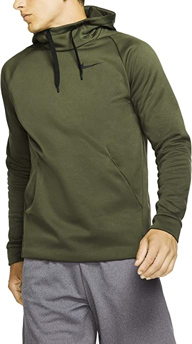 tempo Lesionarse Reembolso  Amazon.com: Nike Men's Therma Training Pullover Training Dri-Fit Hoodie  932022-325 Size XL: Clothing