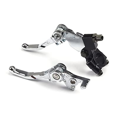 Alloy Brake Clutch Levers Pit Dirt Bike 110 125 140 150 BSE Kayo Apollo motor: Automotive