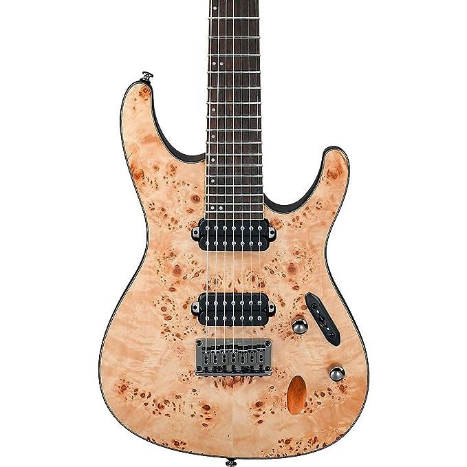Ibanez S Series s7721pb (7 cuerdas Guitarra eléctrica: Amazon.es: Instrumentos musicales