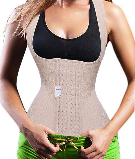 31c27cccd02 Ursexyly Elegant Lace Waist Trainer Vest