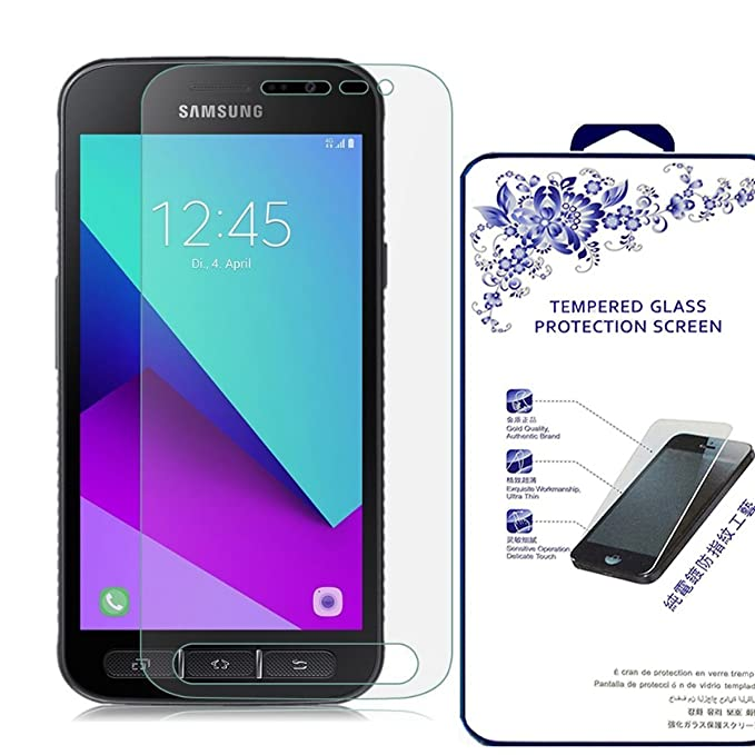 Galaxy Xcover 4 [Tempered Glass] Screen Protector, Nacodex [0 3mm Ultra  Thin 9H Hardness 2 5D Round Edge] with Lifetime Replacement Warranty (for