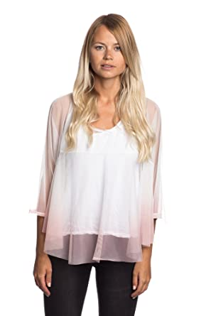 Abbino 13525 Top Tulle For Woman Made In Italy 3 Colours Transition Spring