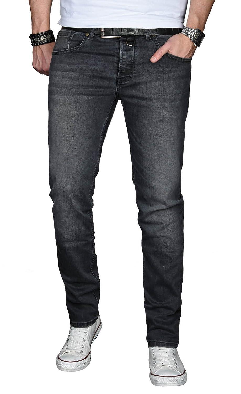 A. Salvarini Designer Herren Jeans Hose Basic Stretch Jeanshose Regular Regular Regular Slim B06WRWX59L Jeanshosen Bevorzugte Boutique c5470c
