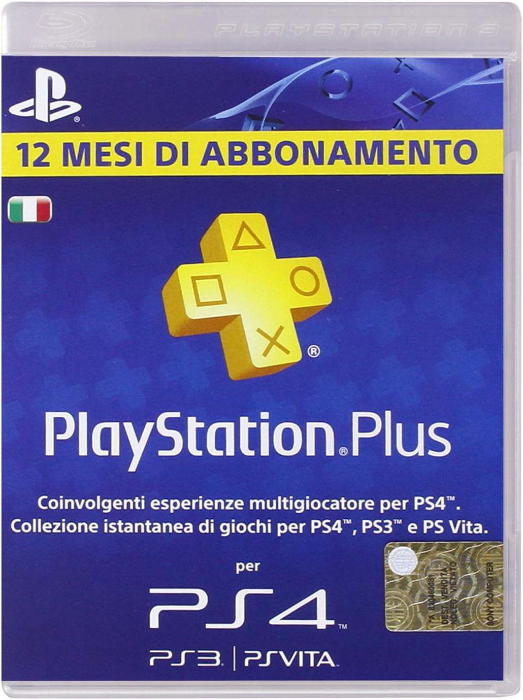PlayStation 3 - Plus Card 365 Giorni [Importación italiana]: Amazon.es: Electrónica