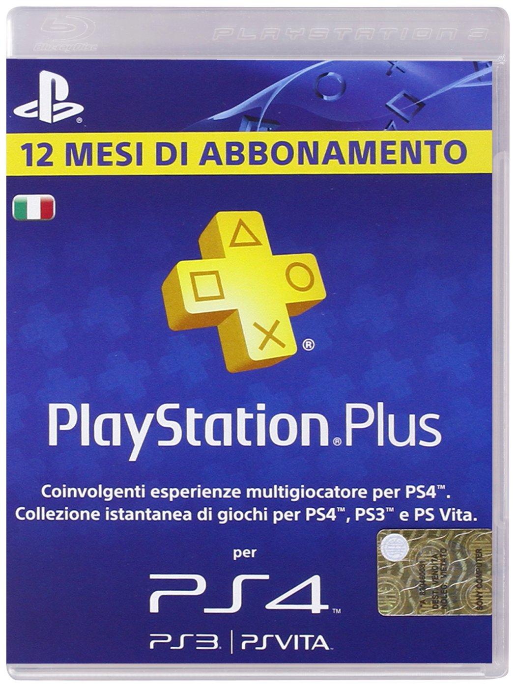 PlayStation 3 - Plus Card 365 Giorni [Importación italiana ...