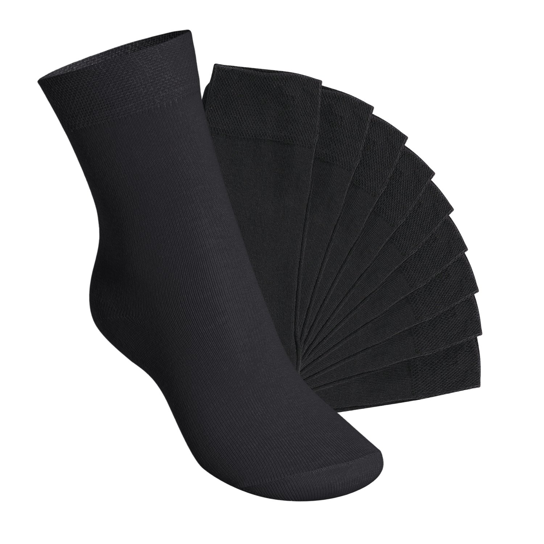Footstar 10 paia di calze per bambini e bambine EVERYDAY! - qualità celodoro - disponibili in tanti colori e numeri dal 23 al 34