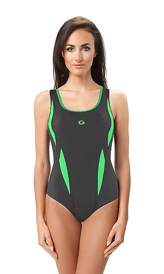 gwinner damen sport badeanzug