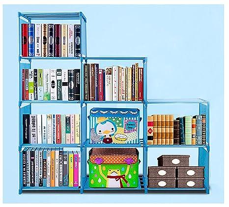 15fcd877976e Amazon.com: Qenci 4 Tier Bookcase Organizer Home Office Storage ...