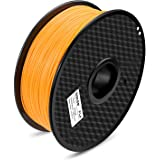TIANSE Orange PLA 3D Printer Filament 1.75mm 1KG Spool Filament for 3D Printing, Dimensional Accuracy +/- 0.03 mm