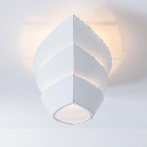 Hochwertige Deckenleuchte Im Modernen Design, 3x E27 Max. 25W, Metall, Weis  /