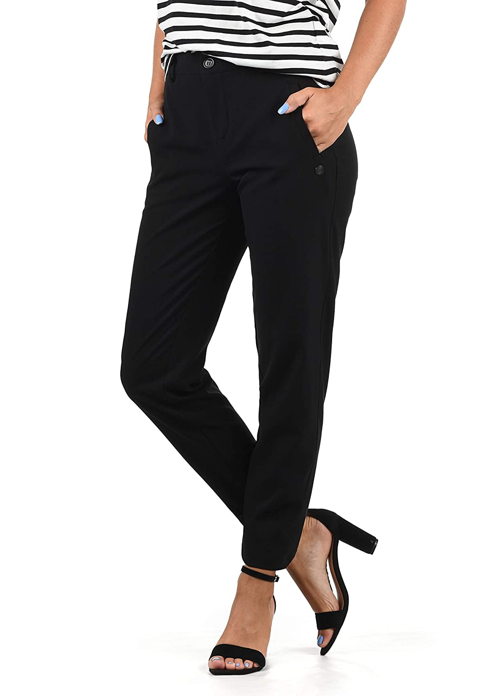 TALLA XS. Desires Ray Pantalón De Tela para Mujer Elástico Regular