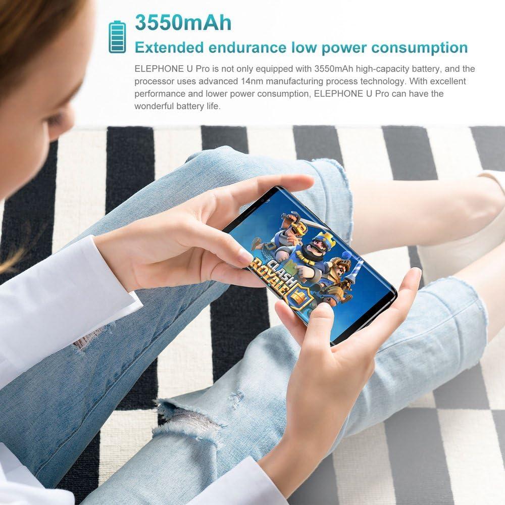 Teléfono móvil,Elephone U 4G Smartphone 5.99 pulgadas 2160*1080 ...