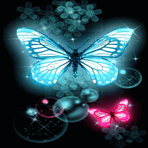 Amazon Neon Butterflies Live Wallpaper Appstore For Android