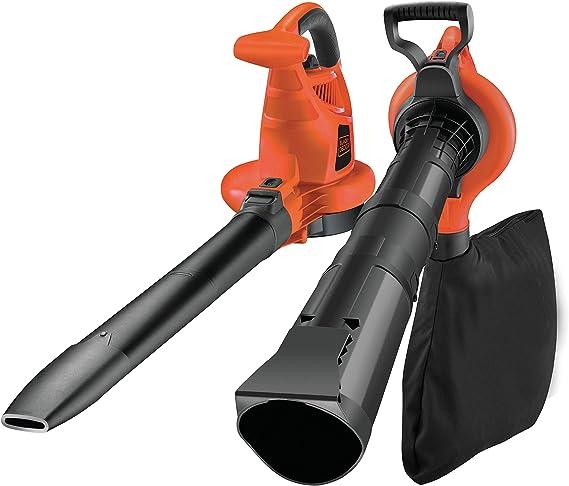 BLACK+DECKER GW3030-QS - Aspirador, soplador y triturador de hojas, 3000W, 418 Km/h: Amazon.es: Bricolaje y herramientas