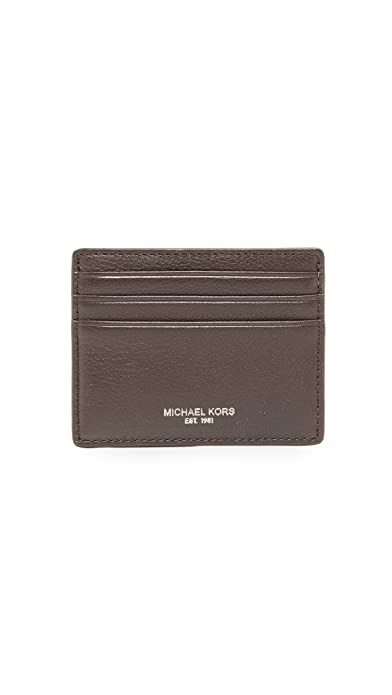 the latest b3344 c0d99 Michael Kors Men's Bryant Tall Card Case: Amazon.in: Shoes & Handbags