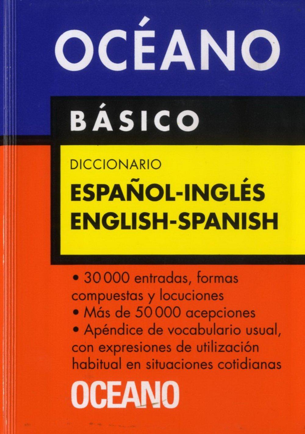 Océano Básico Diccionario Español - Inglés / English ...