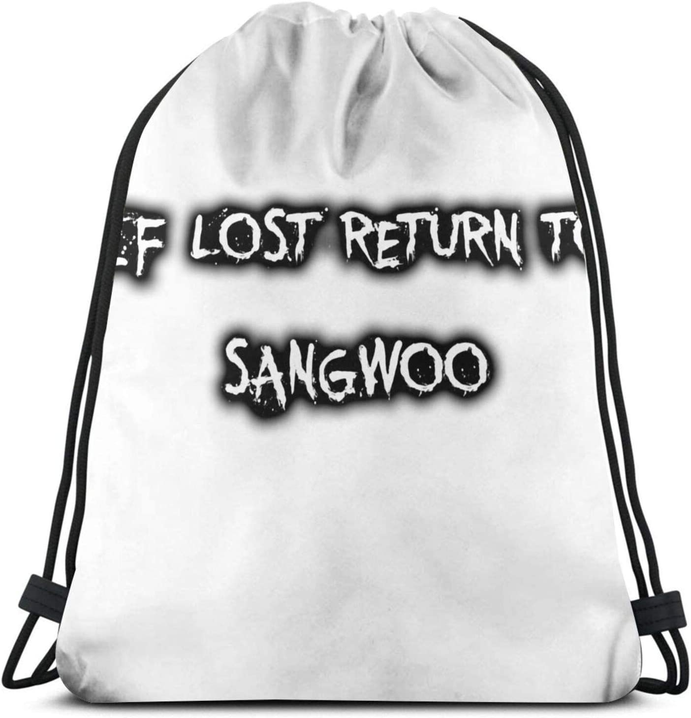 If Lost - Pullover Hoodie Drawstring Bag Sports ness Bag Travel Bag Gift Bag