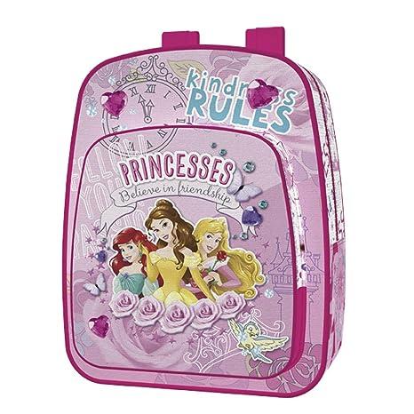 Jaimarc Princesas Disney Mochila, 43 x 34 x 15 cm, Color Rosa