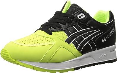 Zapatillas de Running ASICS Gel Lyte Speed Retro, Amarillo (Amarillo/Negro (Safety Yellow/Black)), 4 M US: Amazon.es: Zapatos y complementos