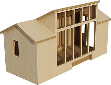 8 X 20 Tiny House Plans Diy Fun To Build Amazon Com