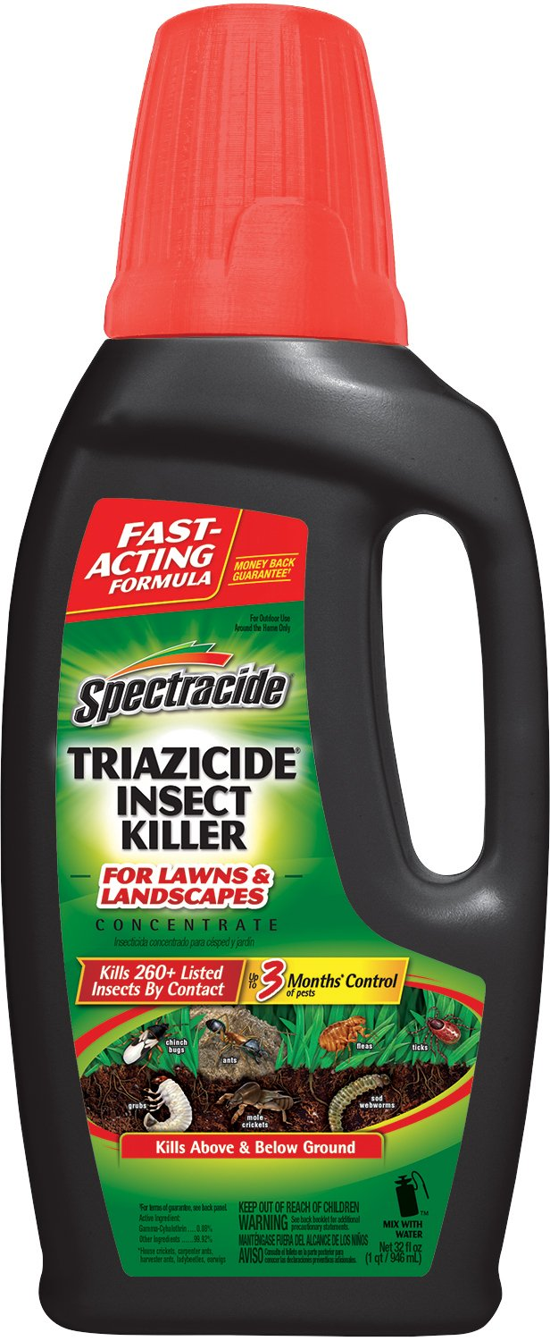 Spectracide Triazicide Insect Killer For Lawns & Landscapes Concentrate, 32-oz