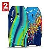 "Wavestorm 40"" Bodyboard 2-Pack, Multi"