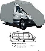 SavvyCraft 4-Layer Class B RV Motorhome Camper Vans High Top Van