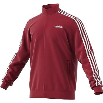 adidas Essentials 3 Stripes Tricot Track Top Sweatshirt ...