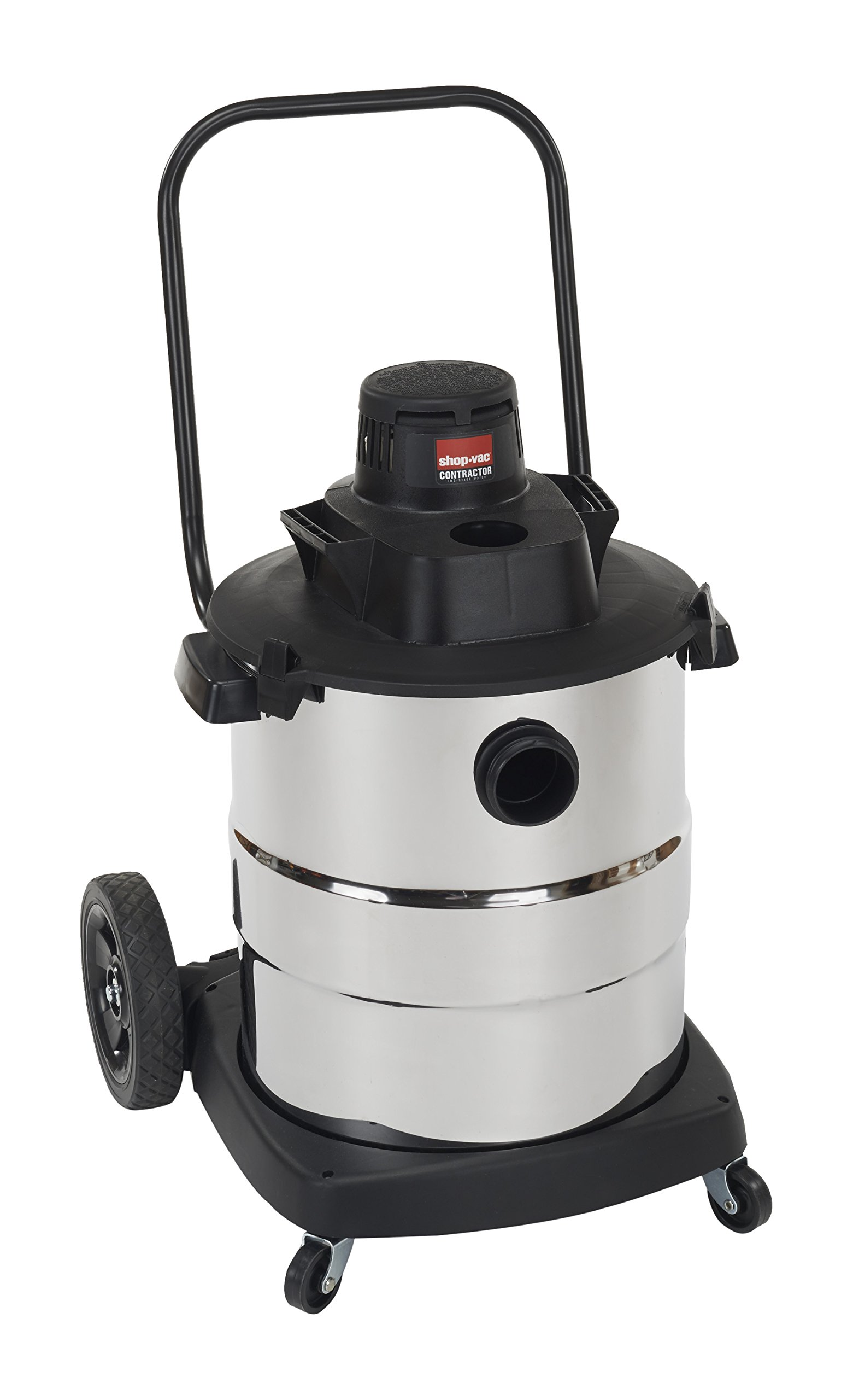 Shop-Vac 6107010 2.0 Peak HP Stainless Steel Wet Dry Vacuum, 10-Gallon