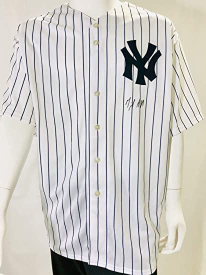 561f0927c Image Unavailable. Image not available for. Color: New York Yankees Miguel  Andujar Autographed Signed Jersey ...