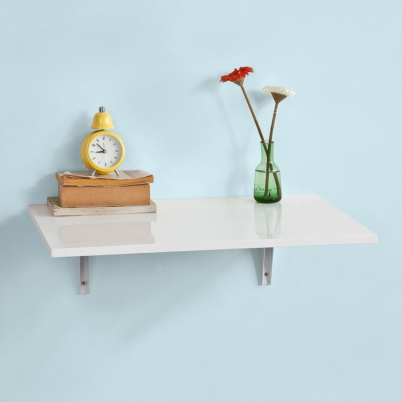 Amazon.com: Haotian FWT21-W, Folding Wall-mounted Drop-leaf Table ...
