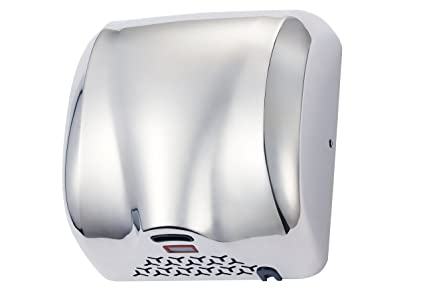 commercial bathroom hand dryers. High Speed 1800W Fast 90m/s Dry Hot Stainless Steel Chrome Automatic Hand Dryer For Commercial Bathroom Dryers