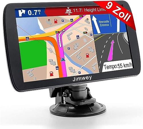 Jimwey Gps Navi Navigation Für Auto Lkw Pkw 9 Zoll 16gb Elektronik