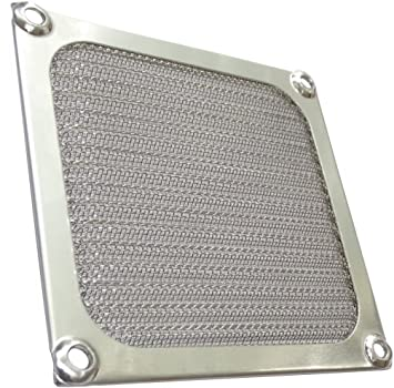 Rejilla de protecci/ón 92x92mm ventilaci/ón con blindaje emi electromagn/ético para Ventilador de Caja de Ordenador PC C15142 AERZETIX
