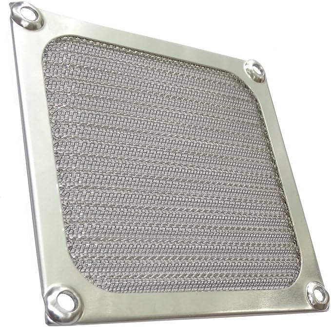 AERZETIX: Rejilla de protección 92x92mm ventilación con blindaje ...