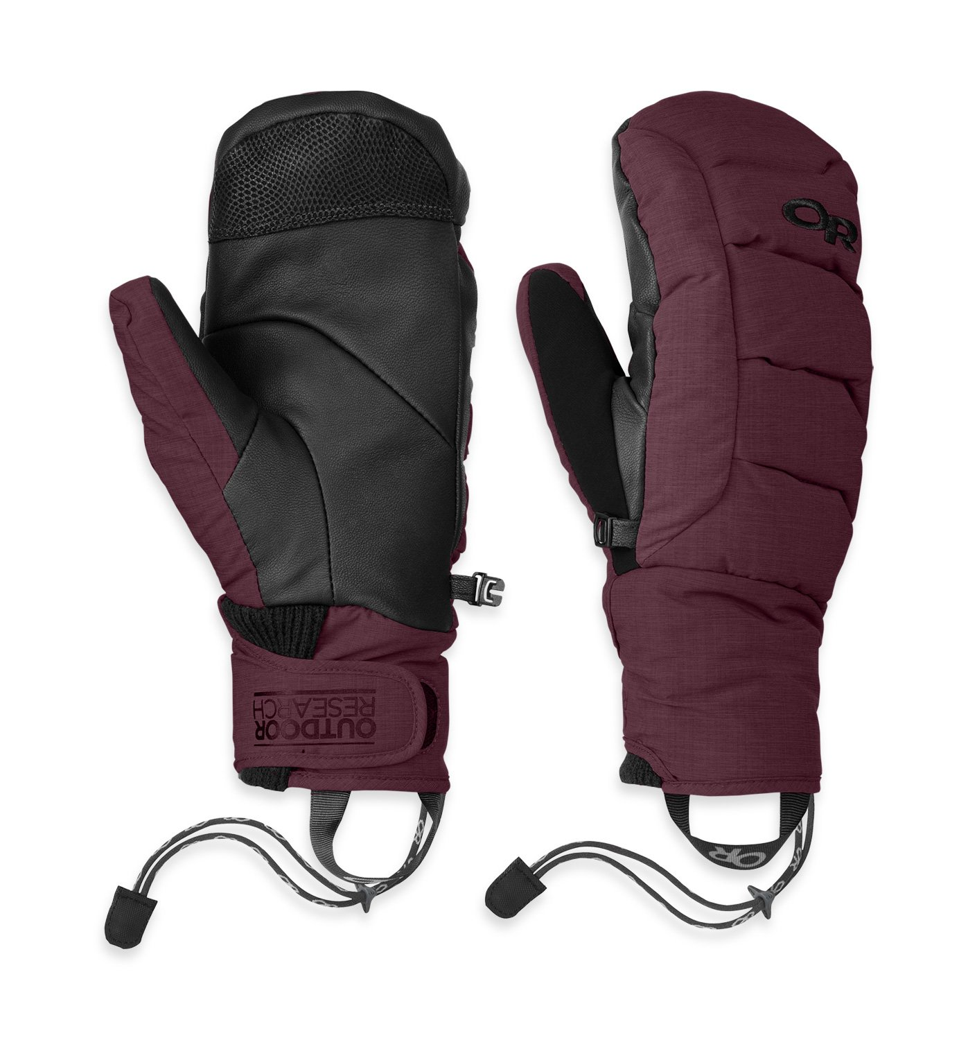 Outdoor Research Stormbound Mitts, Pinot, XL