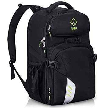 Tubu cámara de vídeo mochila para 2 pro-sized DSLR/SLR Cámara, 3 - 5 lentes, 15,6 pulgadas portátil para al aire libre Viajes 6070: Amazon.es: Electrónica
