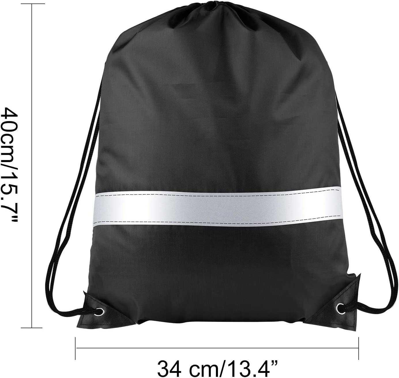 18 Inch Drawstring Backpack Cinch Bag Wholesale Bulk Case Pack Of 48