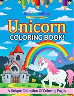 Unicorn Coloring Book A Unique Collection Of Pages
