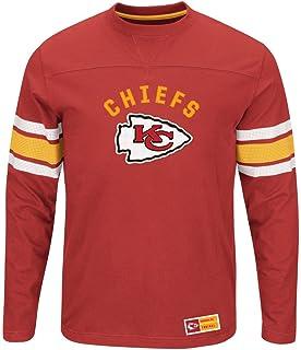 06fdde319 Kansas City Chiefs NFL Mens Majestic Power Hit Long Sleeve Shirt Red Big  Sizes