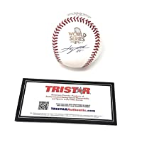 $599 » Justin Verlander Houston Astros Signed Autograph World Series Official MLB Baseball Tristar Authentic Certified