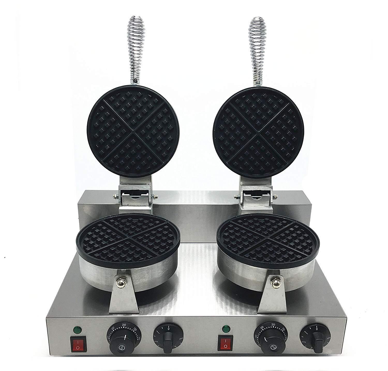 ALDKitchen DOUBLE HEAD Belgian Waffle Maker/Commercial waffle baker/Belgium waffle baking machine waffle baker machine