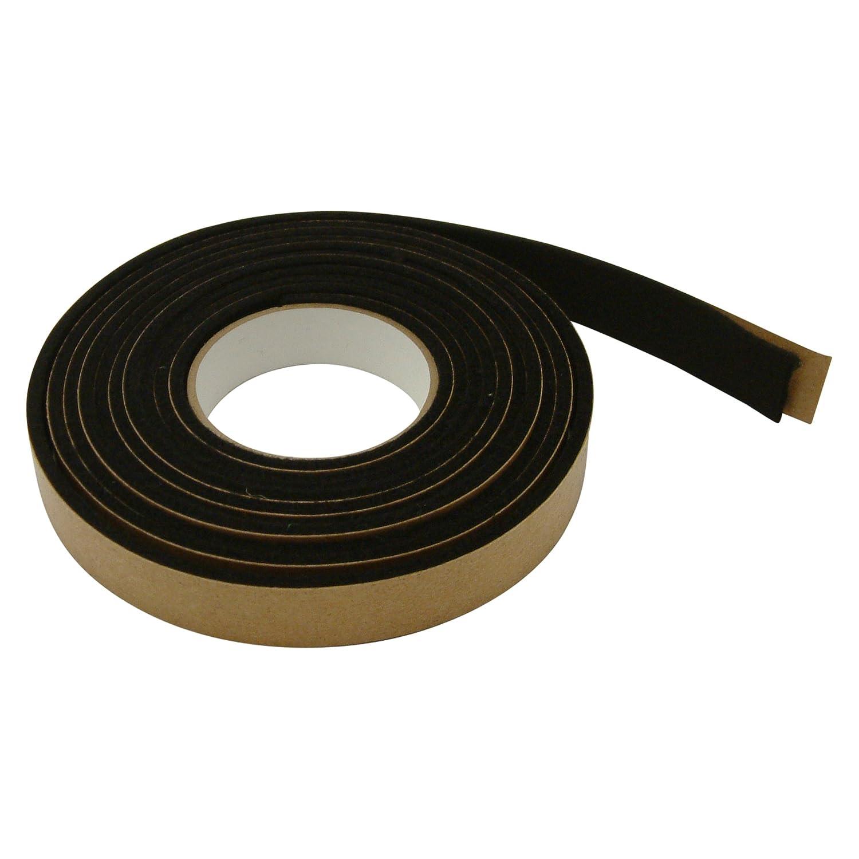 JVCC FELT-09 Polyester Felt Tape: 1 in. x 10 ft. (Black) FELT-09/BLK110