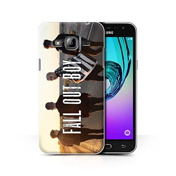 cheap for discount 1d899 7c53c Official Fall Out Boy Phone Case / Cover for Samsung Galaxy J3 /  Road/Highway Design / FOB Band Logo Collection