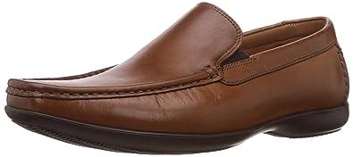 a68fecd4 Clarks Men's Finer Sun Leather Loafers and Mocassins - 9.5 UK